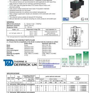 Asco Redhat 2 Wiring Diagram - asco 327 Series solenoid Valve 0 25 Direct Operated Basic Flow Valves Spec Sheet1 App02 Thumbnail 4 13l