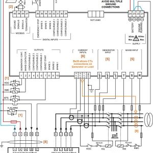 Ats Wiring Diagram for Standby Generator - Auto Transfer Switch Wiring Diagram 4m