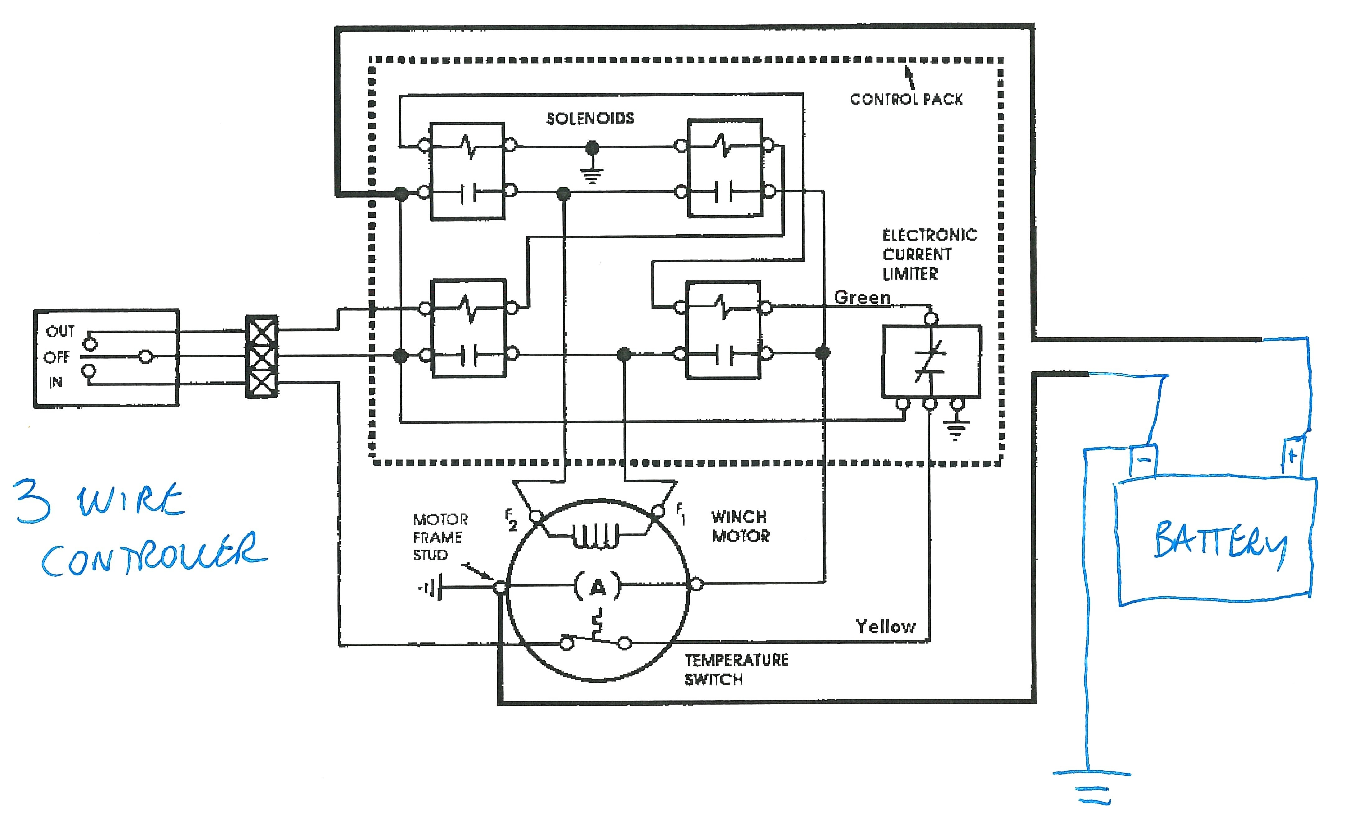 atv winch wiring diagram Collection-Wiring Diagram Winch Solenoid Reference Best Warn Winch Solenoid Wiring Diagram Atv 14-e