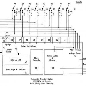 Auto Transfer Switch Wiring Diagram - Generac Automatic Transfer Switch Wiring Diagram Chunyan 15k