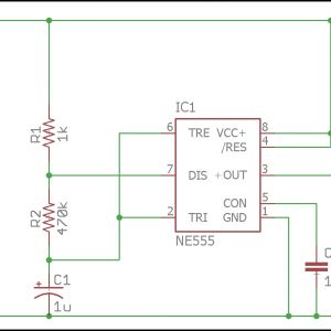 Autocad Wiring Diagram Tutorial - Led Flasher Schematic 16a