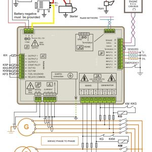 Automatic Standby Generator Wiring Diagram - Wiring Diagram Standby Generator Valid Generator Control Panel Manufacturers – Genset Controller 10l