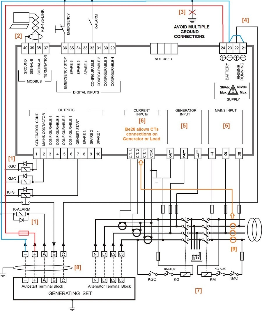 automatic transfer switch wiring diagram free Download-Auto Transfer Switch Wiring Diagram 8-i