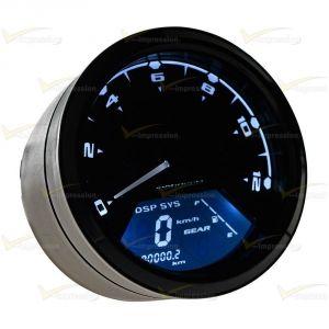 Autometer Gps Speedometer Wiring Diagram - Rpm Kmh Mph Lcd Digital Odometer Speedomete Tachometer Gauges Ultra Lite 1l
