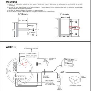 Autometer Sport Comp Wiring Diagram - Tach Wiring Diagram View Diagram Auto Meter Street Tach Wiring 10n
