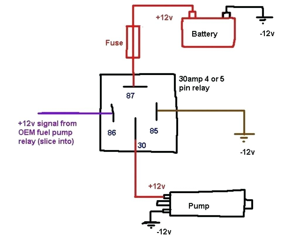 Automotive Relay Wiring Diagram