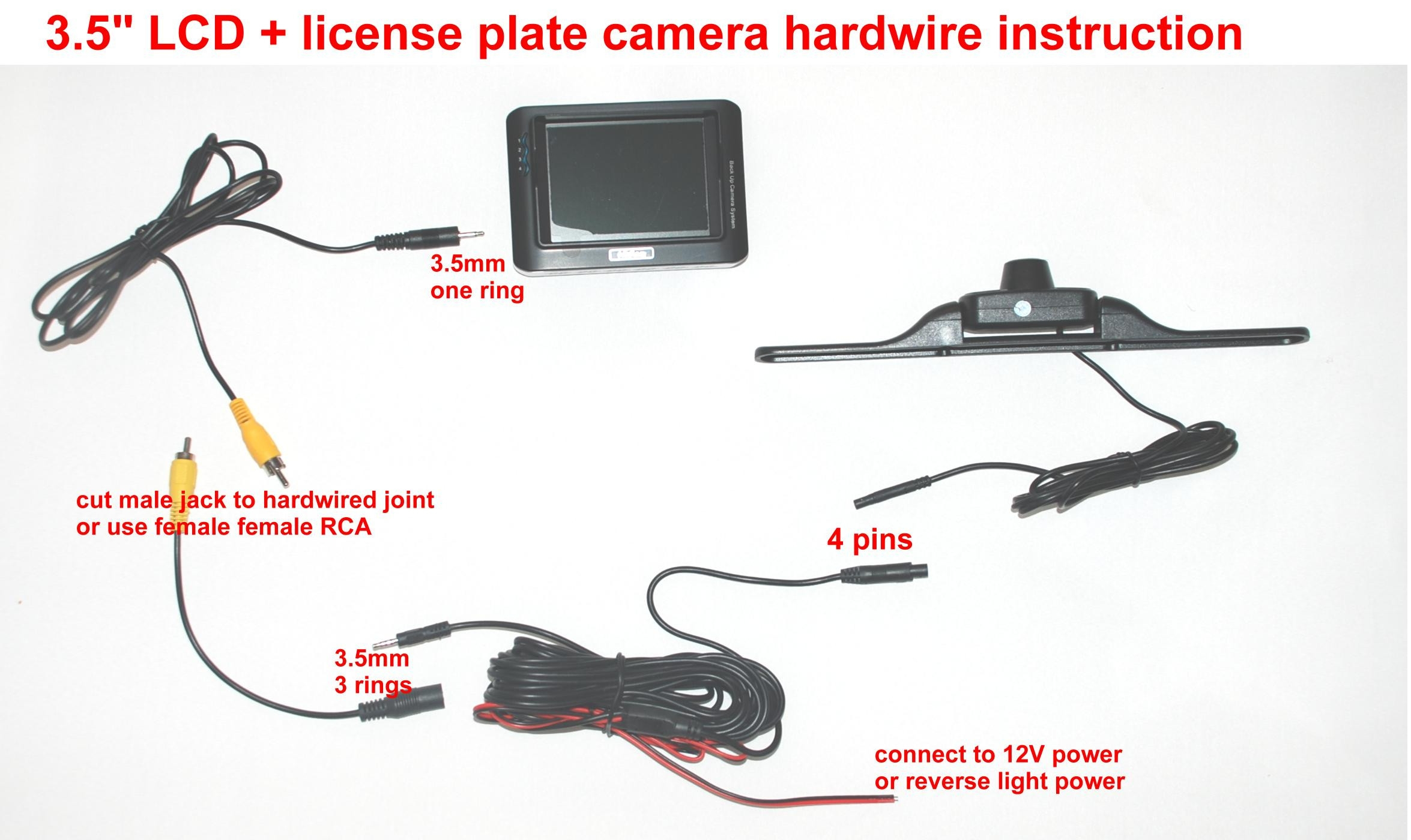 Backup Camera Wiring Schematic