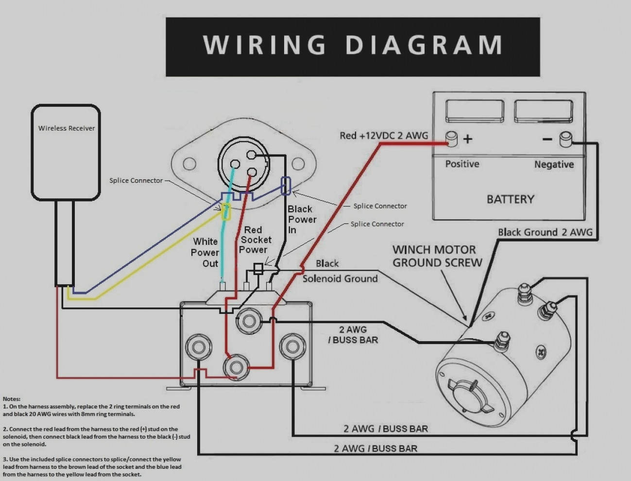 badland wireless winch remote control wiring diagram ... winch remote control wiring diagram