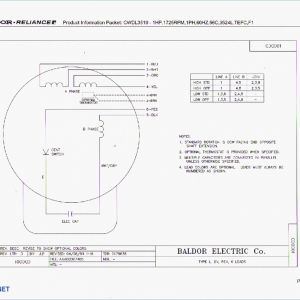 Baldor 1.5 Hp Wiring Diagram - Baldor Reliance Industrial Motor Wiring Diagram New Wirh Baldor Single Phase Cord Wiring Diagram Wiring Diagram 9a