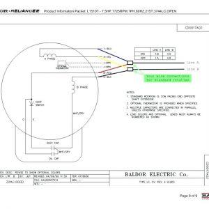 Baldor Motors Wiring Diagram - 5 Hp Electric Motor Single Phase Wiring Diagram Beautiful Single Phase Motor Wiring Diagram with Capacitor 6j