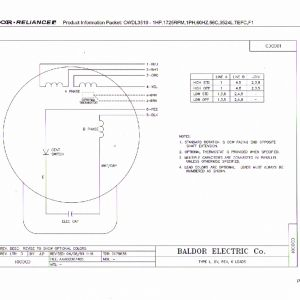 Baldor Motors Wiring Diagram - Baldor Electric Motor Wiring Diagram Best 240v Single Phase Motor Wiring Diagram Diagrams Database Starter 7d