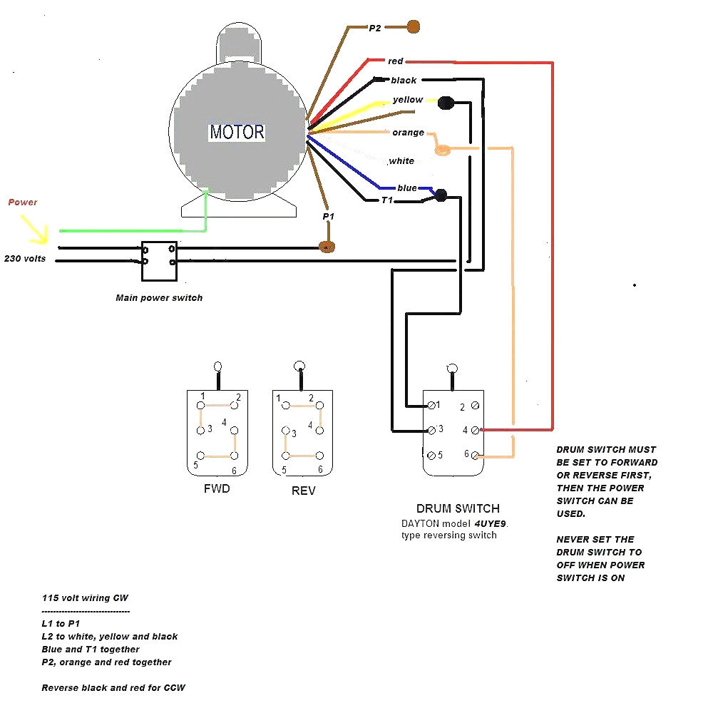 baldor reliance industrial motor wiring diagram