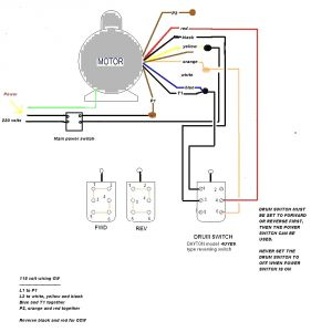 Baldor Single Phase 230v Motor Wiring Diagram - 2 Hp Baldor Motor Wiring Diagram Diagrams Schematics Outstanding 16b