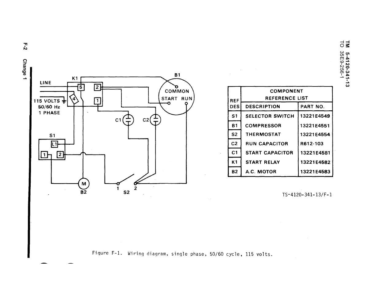Diagram  5 Hp Electric Motor Single Phase Wiring Diagram