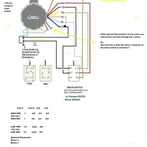 Baldor Single Phase Motor Wiring Diagram - Weg Wiring Diagram Single Phase Motor at Ac Electric Motors 18c