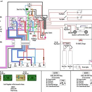 Battery Wiring Diagram - Relay Circuit Diagram 12v Best Electrical Wiring and Charging System Help 11p