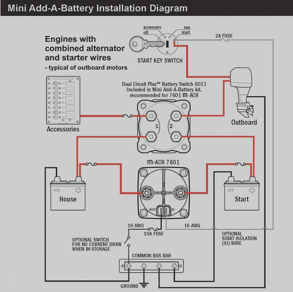 battery wiring diagram Download-Typical Wiring Diagram Best Best Wiring Diagram Od Rv Park 13-q