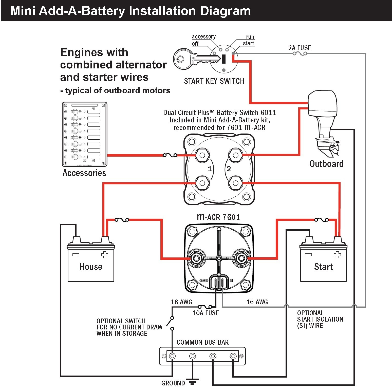 blue sea switch wiring diagram image 7