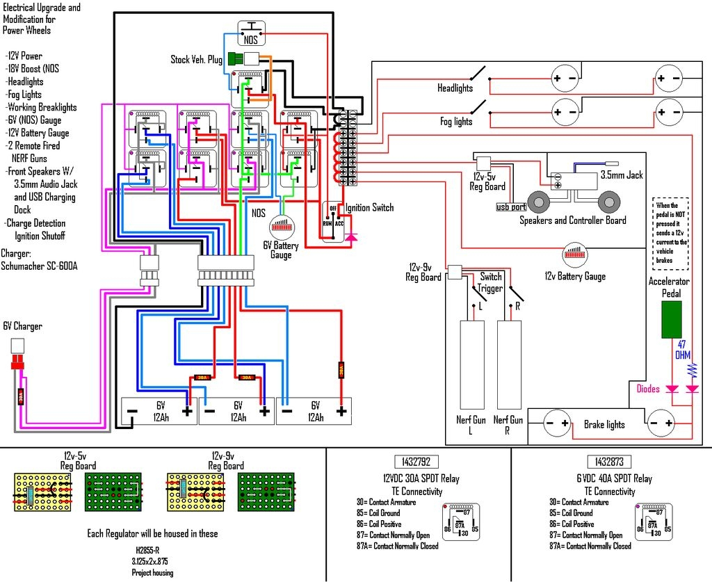Boat Bonding Wiring Diagram Free Nec Service Ground Wire Electrical And Charging System Help Rh Instructables