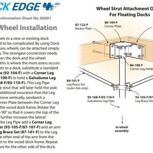 "Boat Dock Wiring Diagram - Amazon Dock Edge Dock & Boat Lift Wheel 18"" 1 98"" Axle Shaft Wiring Diagram 20t"
