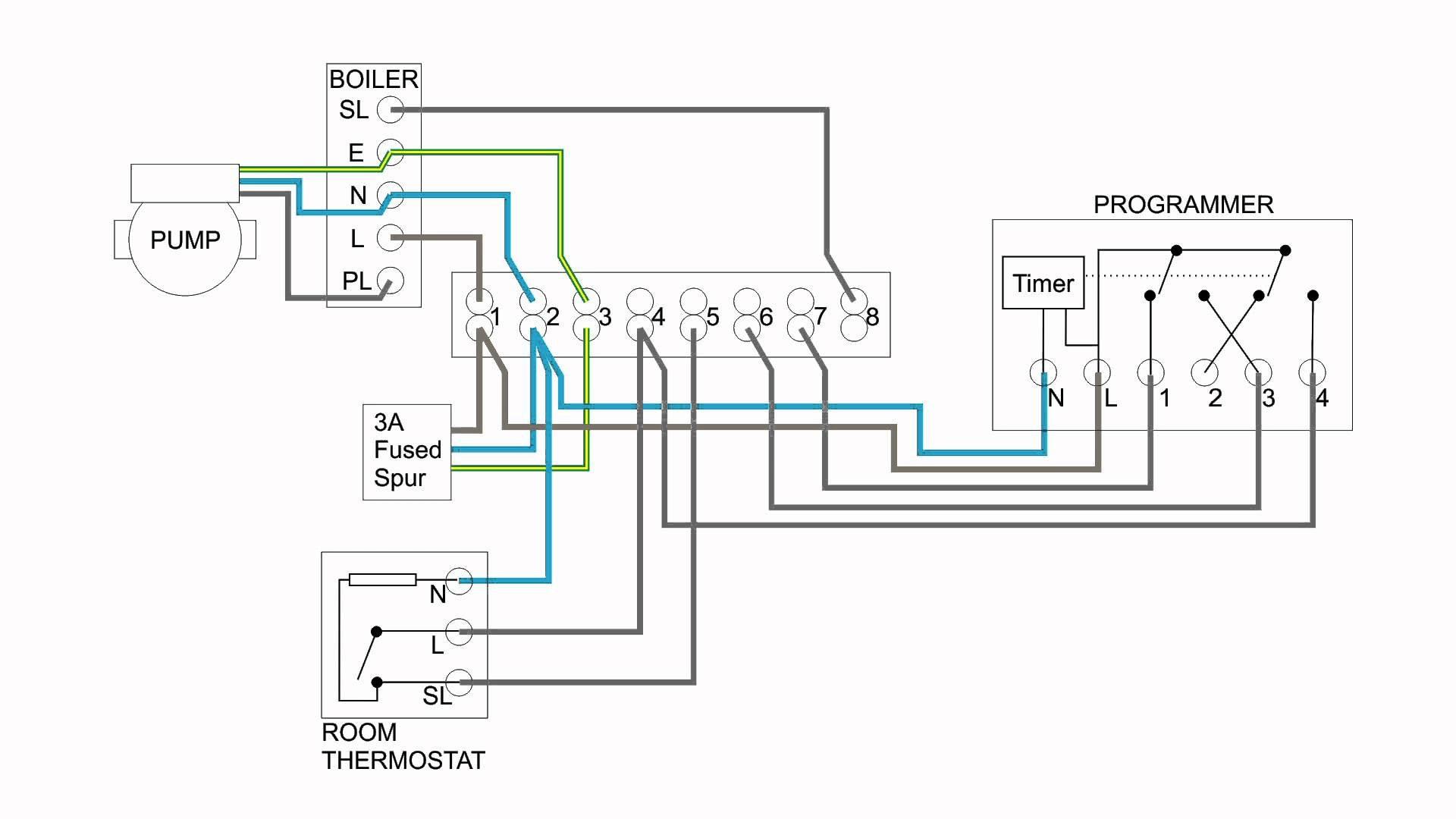 boiler wiring diagram