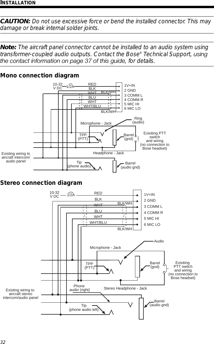 bose earbud wiring diagram Collection-bose earbud wiring diagram Download Page 36 of Bluetooth Headset User Manual Bose Corporation 17 10-l