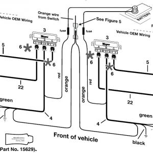 Boss Snow Plow Wiring Diagram - Md2 Plow Wiring Wire Center • 19s