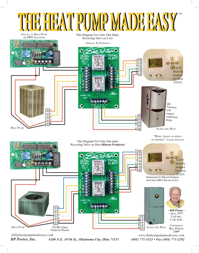 Braeburn Thermostat Wiring Diagram