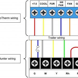Braeburn thermostat Wiring Diagram - Honeywell thermostat Wiring Diagrams New Wiring Diagram for Hunter 8h