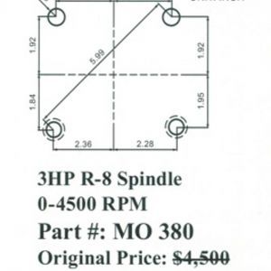 Bridgeport Series 2 Wiring Diagram - Acer Bridgeport Style E Mill Milling Head R 8 Spindle 7k
