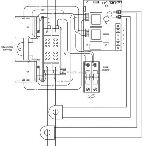 Briggs and Stratton Transfer Switch Wiring Diagram - Briggs and Stratton Power Products 00 10 000 Watt Standby Tearing Transfer Switch Wiring 9q