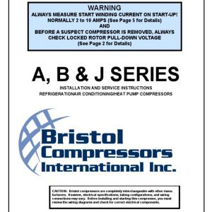 Bristol Compressor Wiring Diagram - 10g