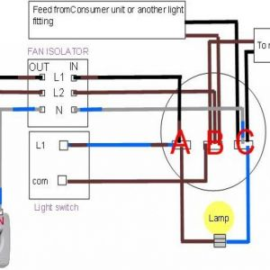 Broan Bathroom Fan Wiring Diagram - Broan Bathroom Fan Wiring Diagram Collection Wiring Diagram Exhaust Fan Bathroom Capacitor Connection How to 5b