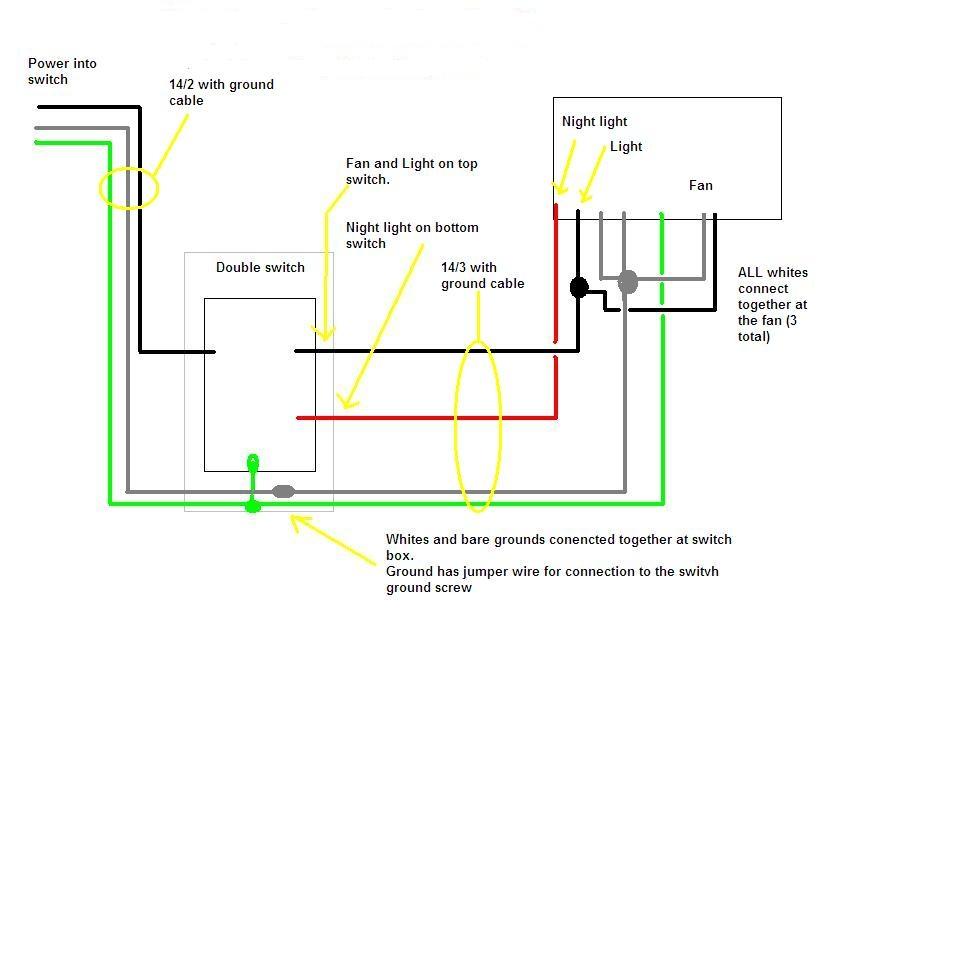 broan bathroom fan wiring diagram Collection-broan bathroom fan wiring diagram Download How To Wire Bathroom Fan WIRING DIAGRAM 17 11 5-c