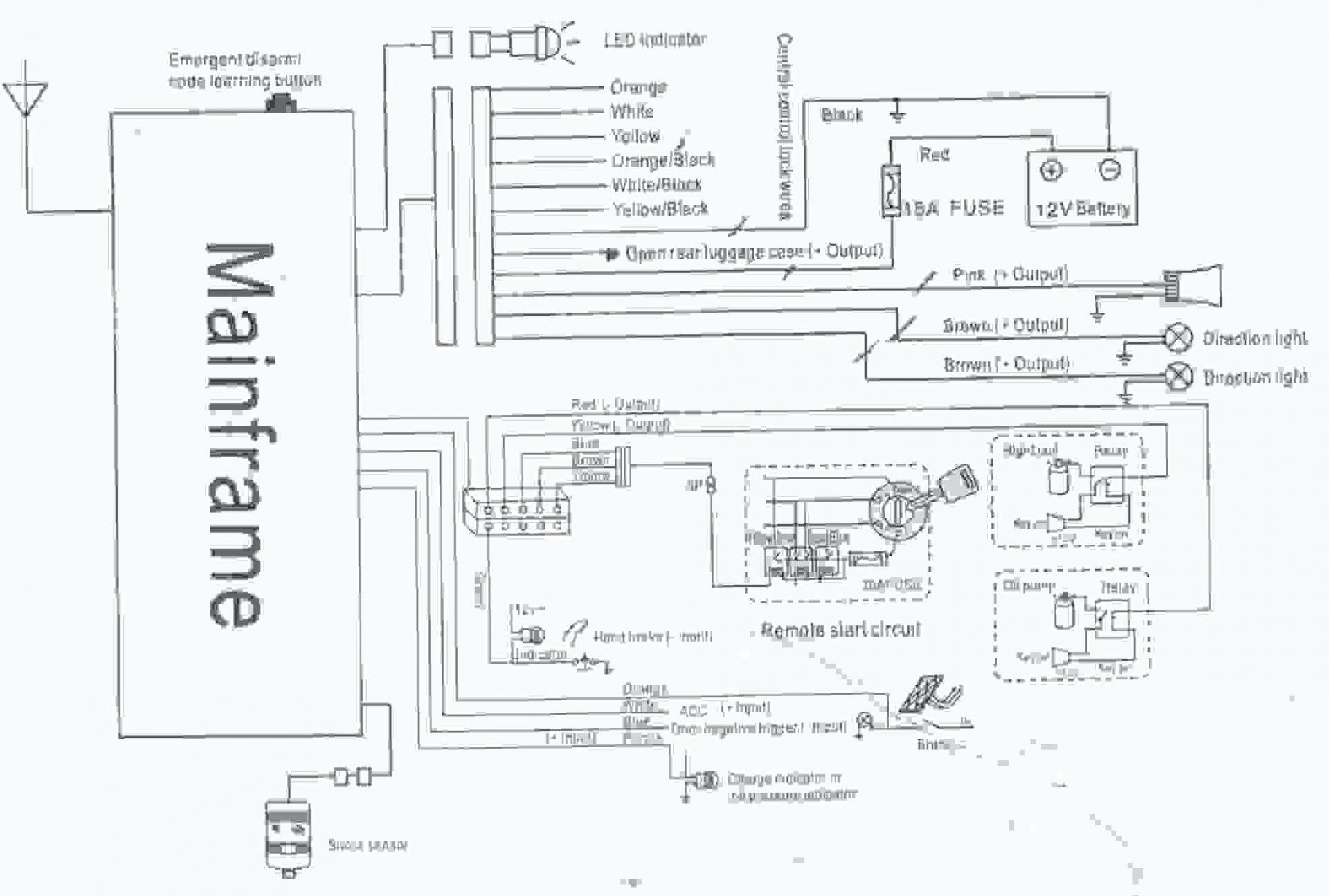 Bulldog Security Alarm Wiring Diagram