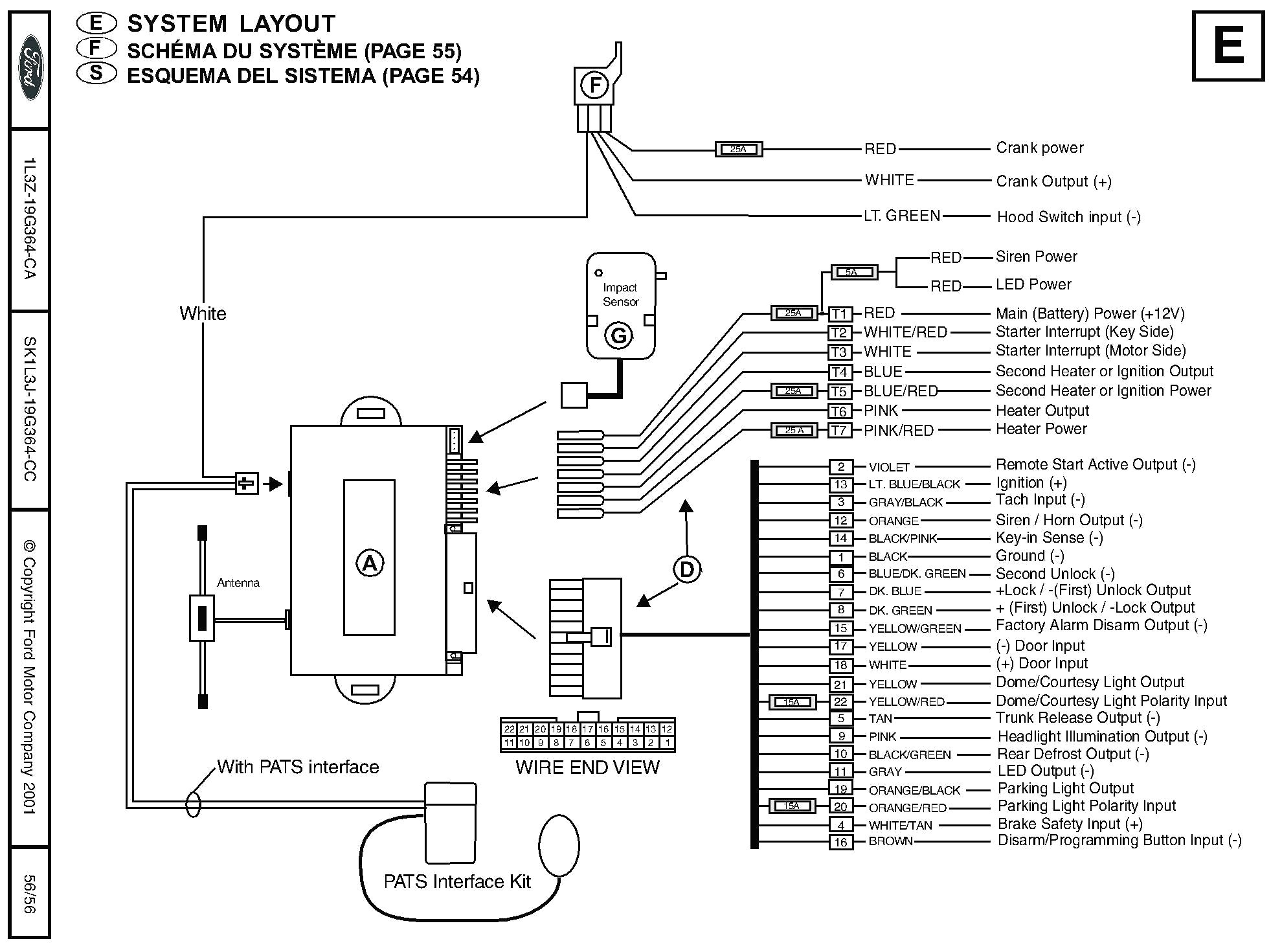 bulldog security vehicle wiring diagram Collection-Wiring Diagram Alarm Motor Valid Vehicle Wiring Diagrams for Alarms Best Bulldog Security Wiring 7-s