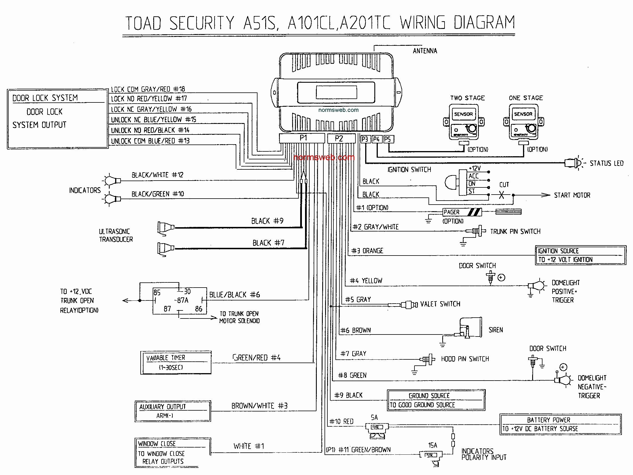 Bulldog Security Vehicle Wiring Diagram