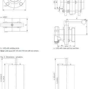 Butterfly Valve Wiring Diagram - Dimensions Valve 6a