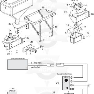 Buyers Salt Spreader Controller Wiring Diagram - Western Salt Spreader Wiring Diagram Western Salt Spreader Control Rh Parsplus Co 2s