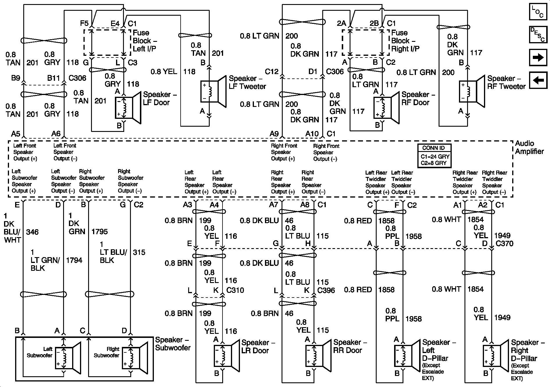 2005 cadillac escalade headlight wiring diagram wiring diagram
