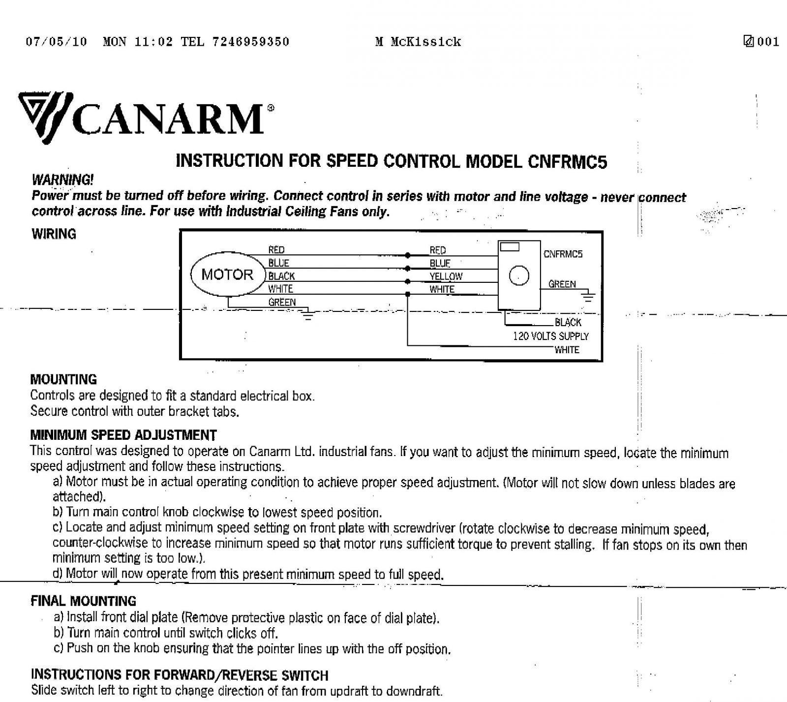 canarm fan speed control wiring diagram Collection-Wiring Diagram Exhaust Fan 2017 Wiring Diagram For Canarm Exhaust Fan Fresh Industrial Exhaust Fan 4-l