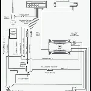 Car Audio Wiring Diagram - Jbl Car Audio Wiring Diagram Installation Circuit with Amp Power Light Rx Lovely Car Stereo 14q