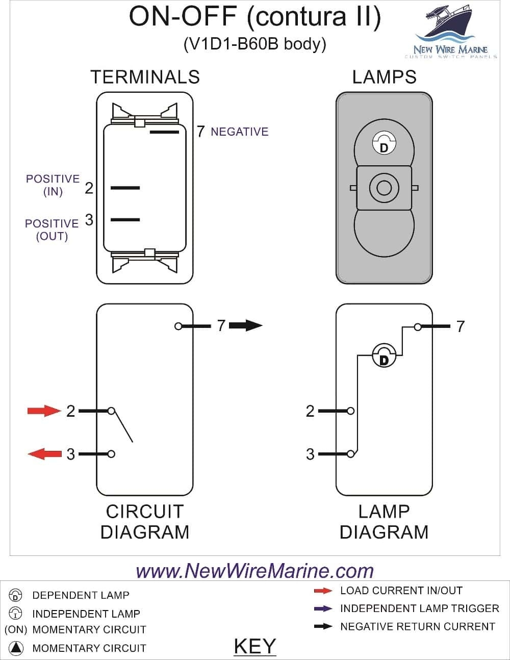 Carling Toggle Switch Wiring Diagram