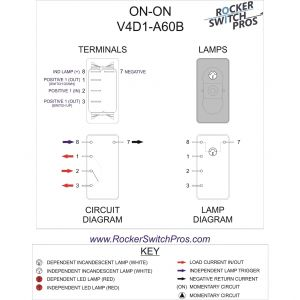Carling toggle Switch Wiring Diagram - On Off On toggle Switch Wiring Diagram Download On Rocker Switch Ind Lamp Three Way Download Wiring Diagram 15t
