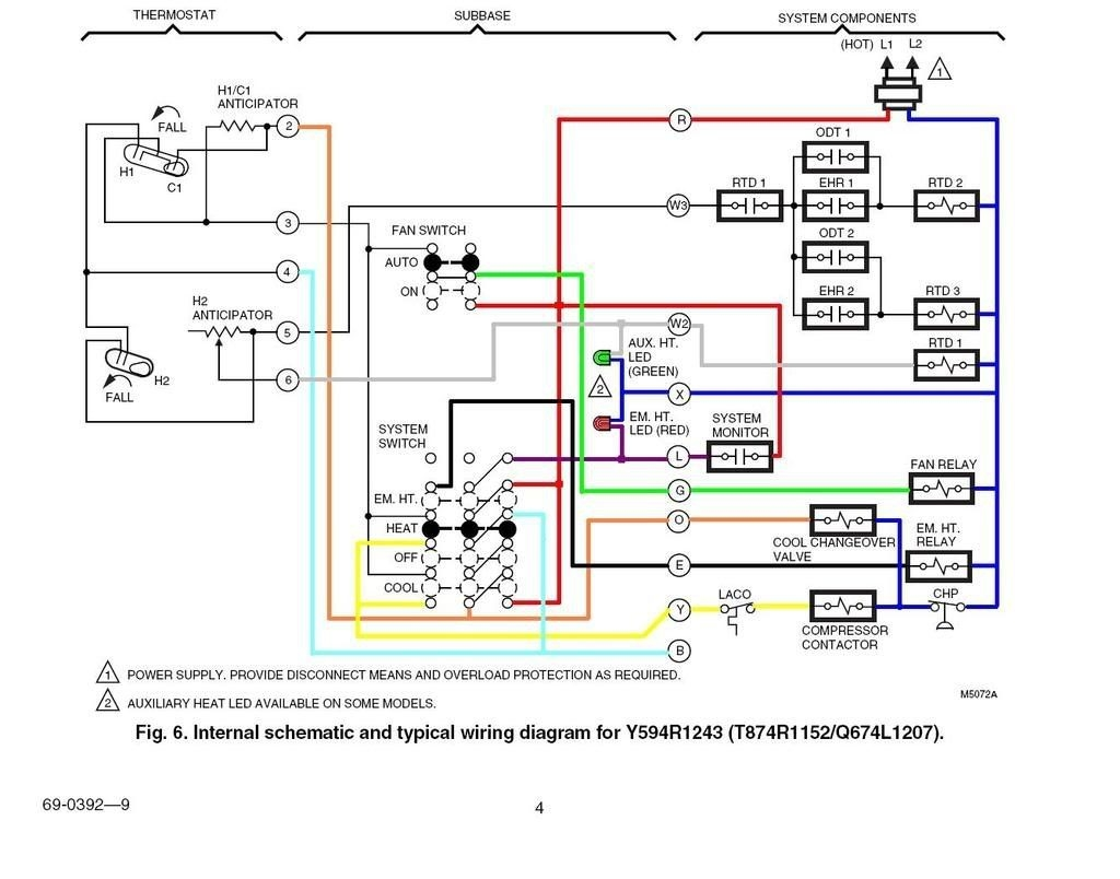 heat pump contactor wiring diagram heat pump control wiring