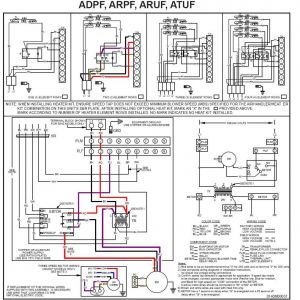 Carrier Heat Pump Wiring Diagram - Wiring Diagram Electric Furnace Wire Coleman Mobile Home for at Rh Wellread Me Rheem Heat Pump 16j