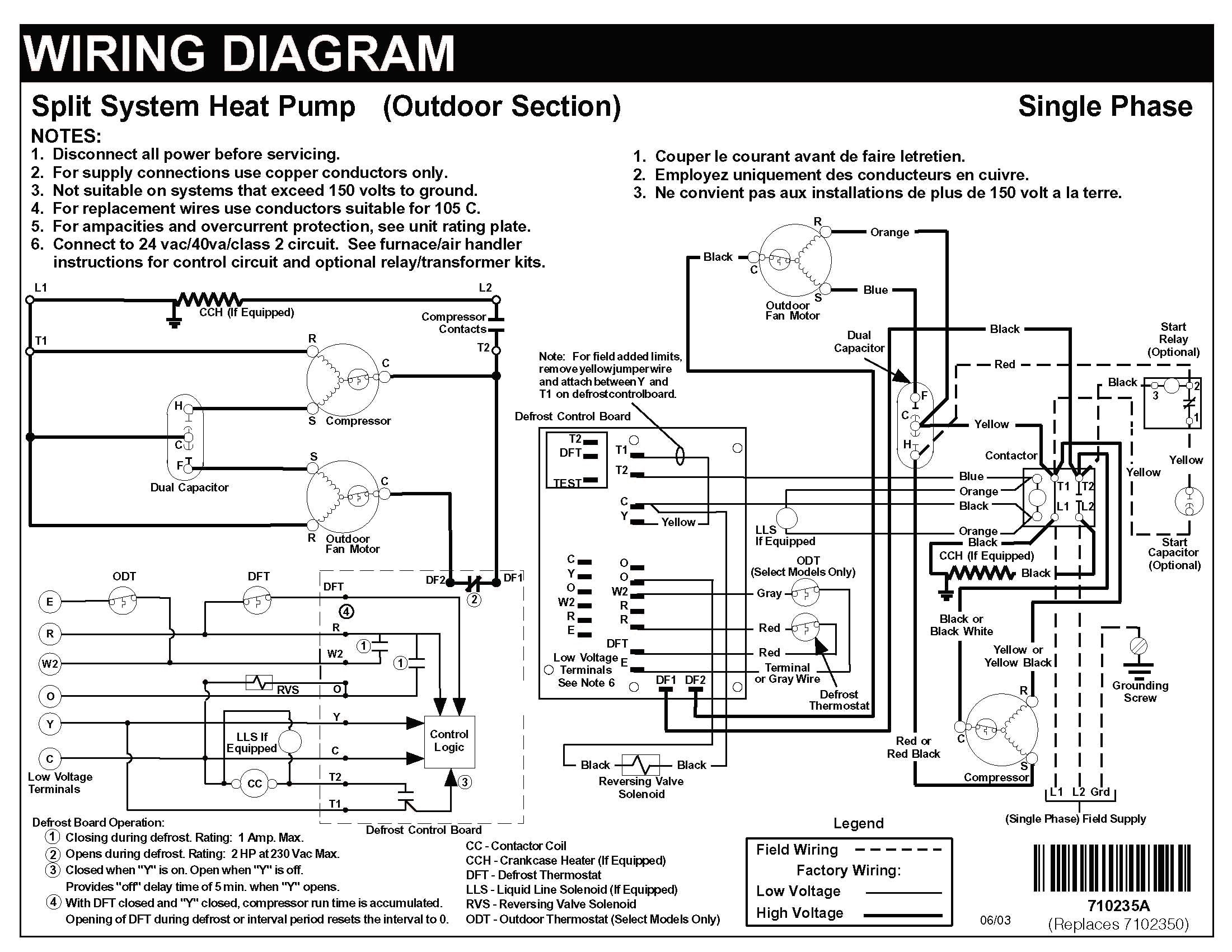Carrier Heat Pump Wiring Diagram