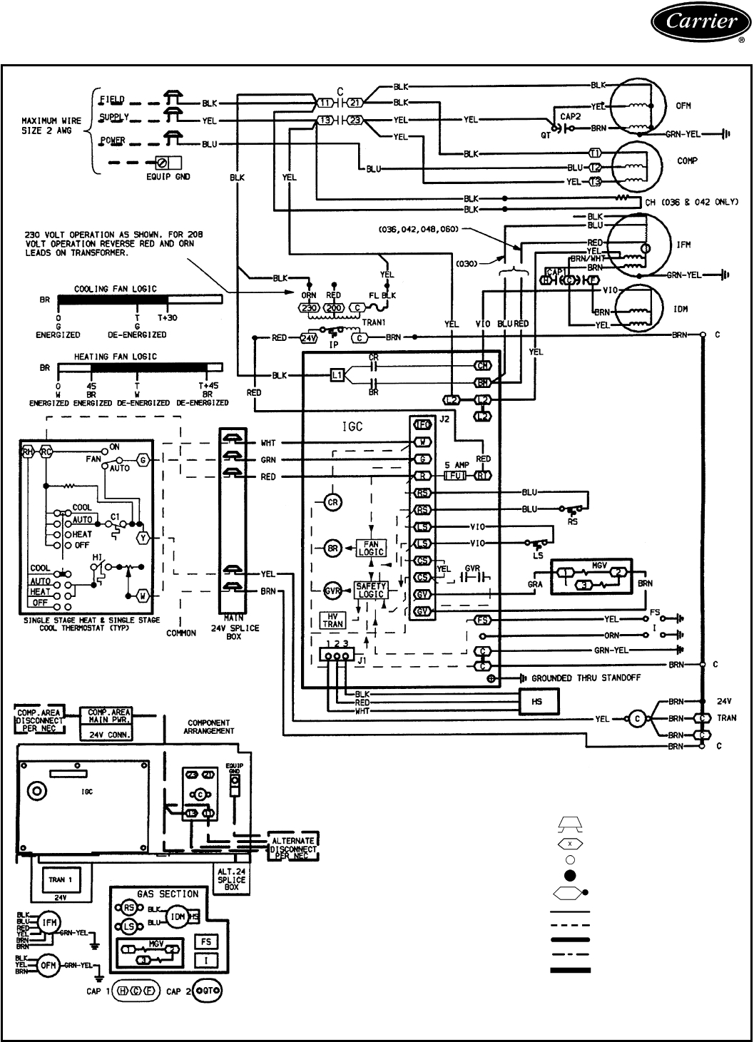 Carrier Infinity Thermostat Wiring Diagram Free Black White Furnace Download Installation Manual