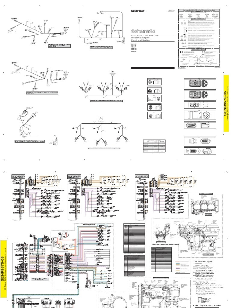 3 Wire Sensor Wiring Diagram Caterpillar Blog Switch Fan Cat 3406e 70 Pin Diagrams Schema Furnace