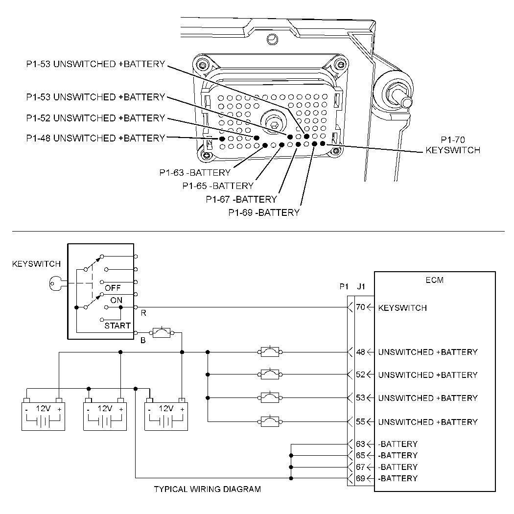 cat 3406e wiring diagram Collection-Cat 70 Pin Ecm Wiring Diagram Wiring Diagram Caterpillar C18 Cat 70 Pin Ecm Que 1-g
